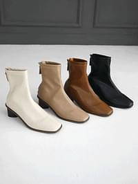 Loupe Socks Ankle Boots 5cm