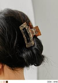 SHELL SQUARE HAIR CLIP
