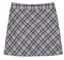 Dermer check mini skirt 裙子