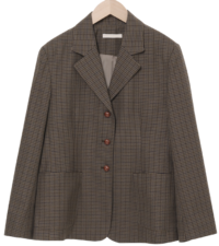 Saint Check Single Jacket