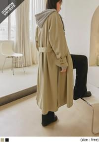 ESSENTIAL STRAP MAC TRENCH COAT