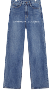 PUTO WIDE LONG DENIM PANTS
