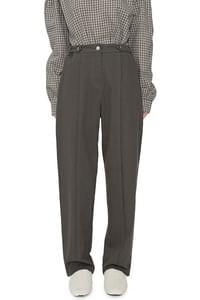 Movie cotton baggy trousers