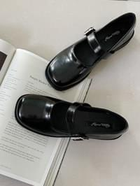 Black Jane loafers