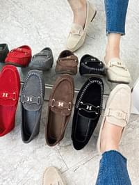 Rutica leather height loafers 2 cm