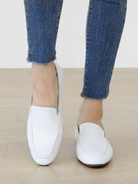 Keyfea leather height loafers 3cm