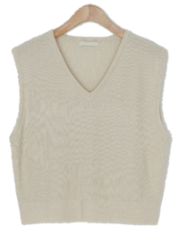 Standard Daily V Neck Knit Vest