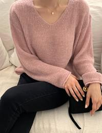 Two You V Neck Loose Fit Knit