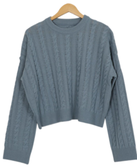 Bird Twisted Crop Knitwear