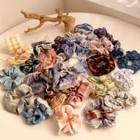 Check chou shu giblets hair band daily set of 30