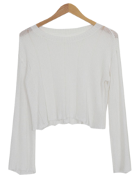 Water Rouge Crop Knit