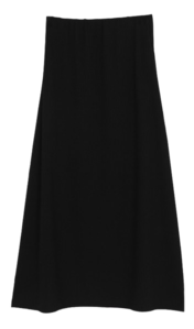 Corrugated flare skirt