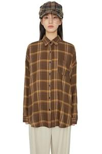 Tao check over shirt