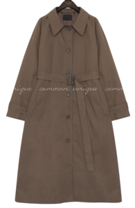 PERIN SINGLE TRENCH COAT