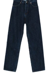 Deep Washing Straight Jin Cheong Denim Pants