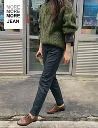 MORE JEAN_Straight fit