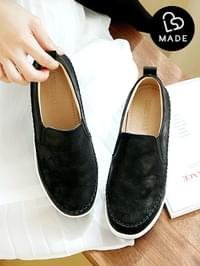 Classic leather height slip-on 5cm