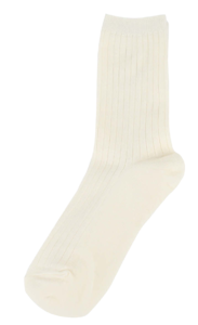 Ribbed soft Socks 襪子