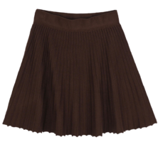 Cats pleated mini skirt スカート
