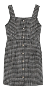 Nelly tweed midi dress