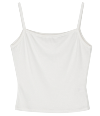 All-key slim sleeveless top