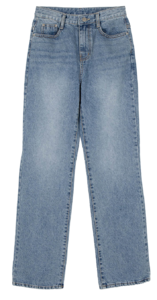 Dove straight jeans