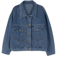 Bunny pocket denim jacket