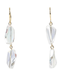 Jane crystal drop earrings