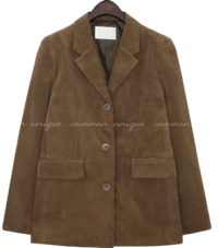 BINTER CORDUROY SINGLE JACKET