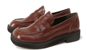 SERENT SQUARE PENNY LOAFER