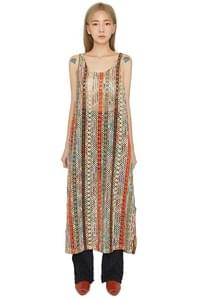 Autumn bohemian maxi dress