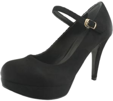 Mary Jane Gabosi High Heels Black