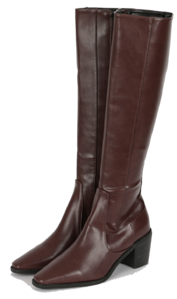 New York high heel long boots boots