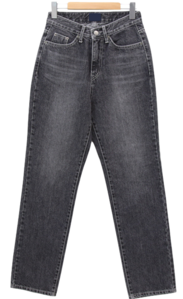 Backstay Black Blue Straight Jeans