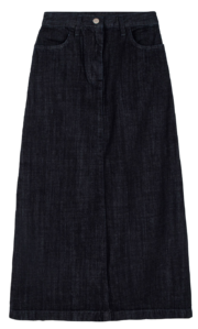 Deep Dough Denim Maxi Skirt