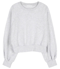 Oz soft cotton crew neck sweatshirt 長袖