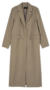 Berlin straight single long coat