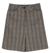 Glan check half shorts
