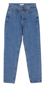 Retro medium dying slim jeans