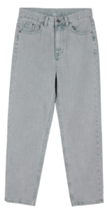Regular stone straight jeans