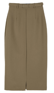 Elin belt set maxi skirt skirt