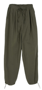Day-up straight jogger trousers
