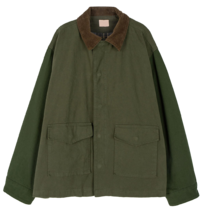 Normal overfit parka coat