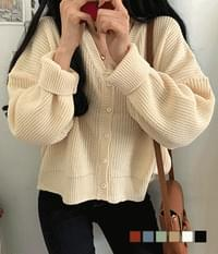 Bezel Hazzi Loose Fit Cardigan