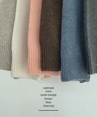 New Popo Loose-fit Ramswool Round Knitwear