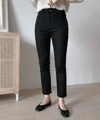 Daily Black Slim Date Pants-Long Small Size Same Day Shipping