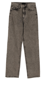 Newt Color Washed Straight Jeans