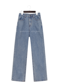 PENCO PINTUCK WIDE DENIM PANTS