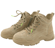 Semu High-Top Walker Sneakers Beige