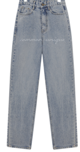 DAMAGE BANDING DENIM PANTS